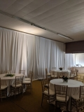Rental store for 10 x16  TALL WHITE DRAPE SECTION in  North Carolina