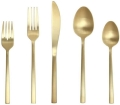 Rental store for Arezzo Brushed Gold Flatware in  North Carolina