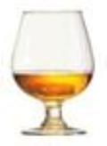 Rental store for Large Brandy Glasses in  North Carolina