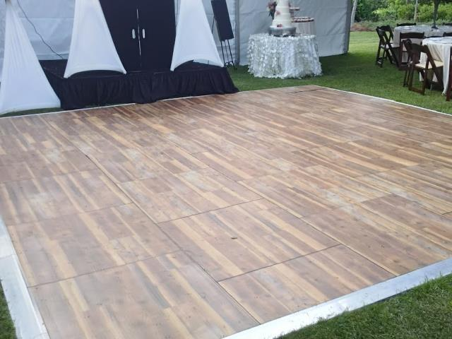 Rent Dance Floor - Vintage Pine
